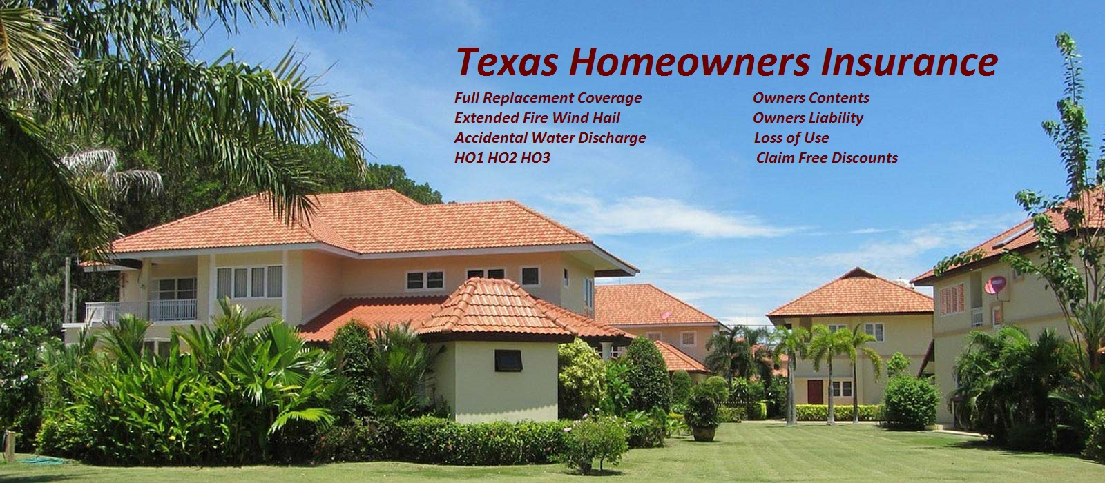 Homeowners Insurance in Texas TX